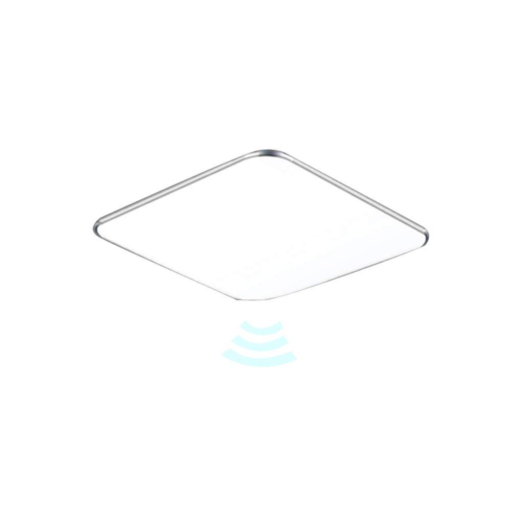 24W LED Sensor Deckenleuchte Deckenlampe LED Radar Sensorleuchte mit Bewegungsmelder (24W Sensor Kaltweiß) NAIZY