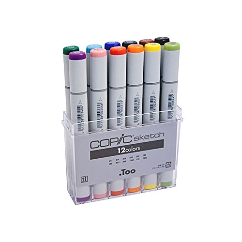 Copic-Sketch-Marker-Sets