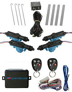 Electric Life 95338 Power Door Lock Kit w/Keyless Entry
