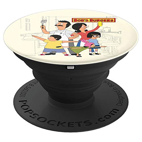 Bob's Burgers Family - PopSockets Grip and Stand for Phones and Tablets