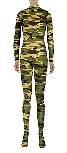 Costume Full Kids Lycra L Green K Unisex Zentai Icegrey Spandex Camo Unitard Bodysuit FJK3cTl1