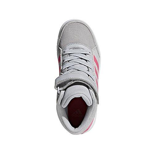 Rosa Mid Adidas Grigio unisex bambini Altasport Sneakers K per Tw7x7vFqA