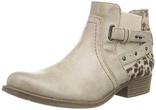 Mustang Booty, Bottes Classiques femme Ivoire (243 Ivory)
