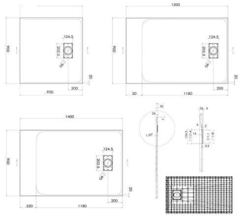 Sensational Duschtasse Duschwanne Rechteckig Gt Serie Aus Smc Breite 90 Cm Wiring Digital Resources Llinedefiancerspsorg