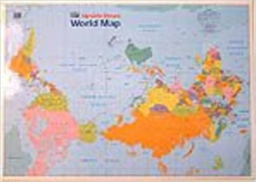 Buy Kiwi Upside Down World Map Book Online at Low Prices in India ...