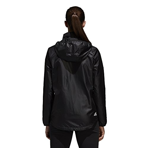 adidas Women's Linear Windbreaker Jacket, Black, X-Large by adidas (Image #5)