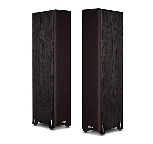 Polk Audio TSi300 Floorstanding Speaker (Pair, Black) by Polk Audio