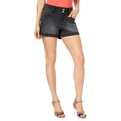 Thalia Sodi Cuffed Denim Shorts at Women's Clothing store