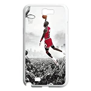 Personality Basketball Michael Jordan Design 3D Printed Case for Samsung Galaxy Note 2 N7100 USASherry-02159
