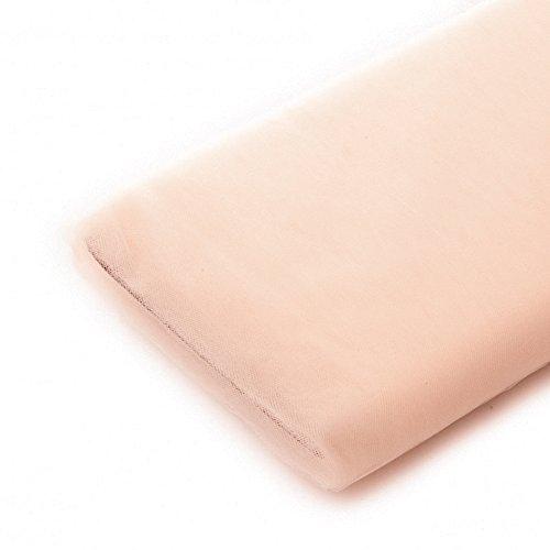 Tulle Fabric - 40 Yards Per Bolt (Blush)