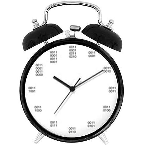 Amazon.com: 47BuyZHJX - Reloj despertador de doble campana ...