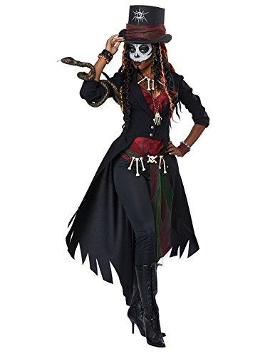 Voodoo Witch Doctor Costume (Voodoo Magic Women - Adult M)