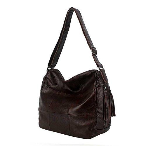 Borsa A Tracolla Borsa Di Moda Per Donna Semplice Messenger Bag,Brown-OneSize