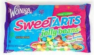 Wonka Sweetarts Jelly Beans Easter Bag, 14-ounce (Pack of (Sweet N Tart)