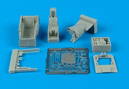 Aires 1:72 F/A-18 A Hornet Cockpit Set for Hasegawa Kit - Resin Update #7174