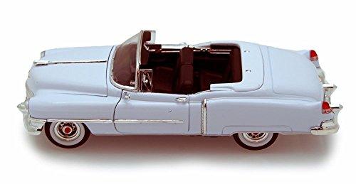 Welly 1953 Cadillac Eldorado Convertible, White 22414 - 1/24 Scale Diecast Model Toy Car