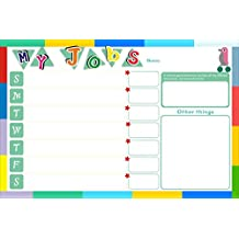 UCMD UCMD Job Weekly Planner Wall Sticker for Kids or Adult Schedule Magnetic Chores Chart