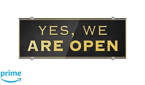 27x18 Now Open CGSignLab Chalk Banner Premium Brushed Aluminum Sign