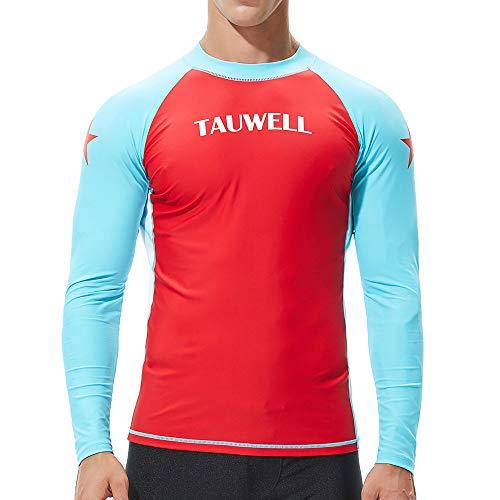 QBQCBB Men's Fashion Coloured Alphabet Sea Surfing Suit Quick Dry Tights Top Blouse(Red - City Suit Trousers