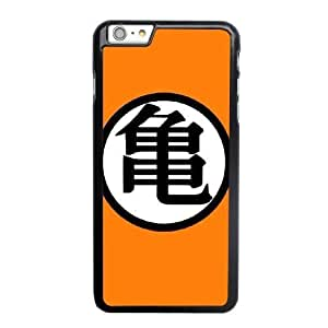 Custom made Case,Dragon Ball Z Master Roshi PC Plastic Cell Phone Case for iPhone 6 6S plus 5.5 inch,Black Case With Screen Protector (Tempered Glass) Free S-6633070