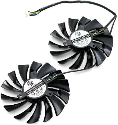 (PLD10010S12HH 12V 0.4A 4Pin For MSI GTX960 GTX950 R9 380 390/390X GAMING VGA video Card heatsink cooling)