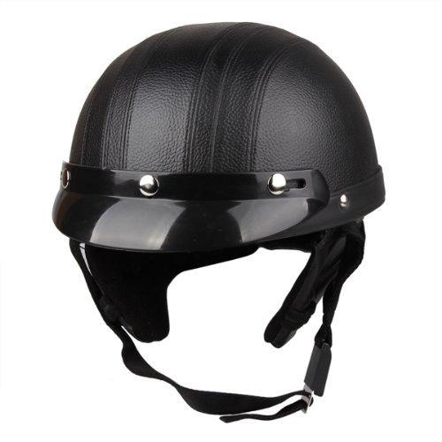 Amazon.es: Sonline Casco de Moto ABS Motocross Ciclismo Helmet Gafas de Proteccion Negro