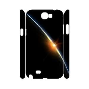 3D Samsung Galaxy Note 2 Case, Starburst Men Cool Case for Samsung Galaxy Note 2 {White}