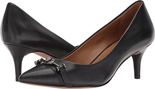 Blk Leather Footwear - 6