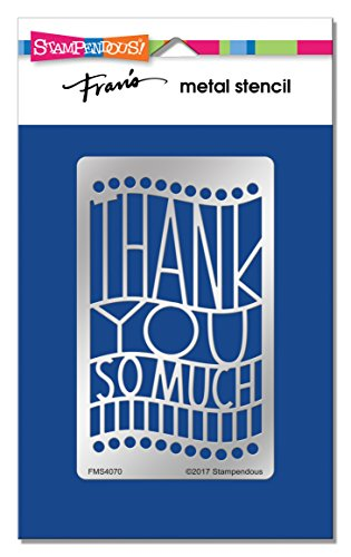 Stampendous FMS4070 Thank You Ensemble Metal