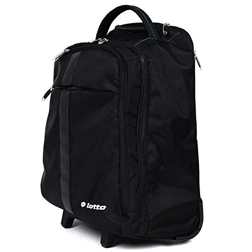 de4abfa830ad Lotto 50 Ltrs Black Laptop Roller Case (CB150039)  Amazon.in  Bags ...