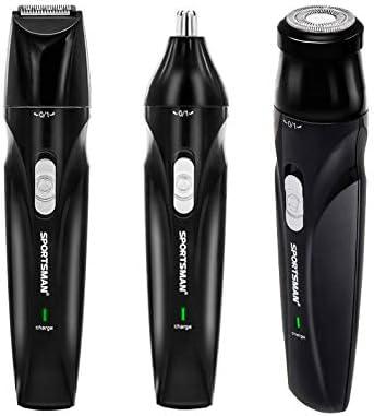 LARRY-X - Cortapelos 3 en 1, afeitadora eléctrica Lavable ...