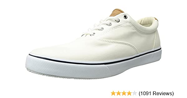 7474999ad Amazon.com | Sperry Men's Salt Washed Striper LL CVO Boat Shoe | Fashion  Sneakers