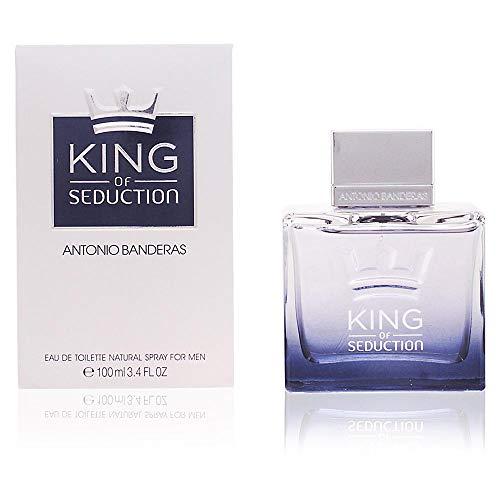 Antonio Banderas King of Seduction Men Eau de Toilette Spray, 3.4 Ounce