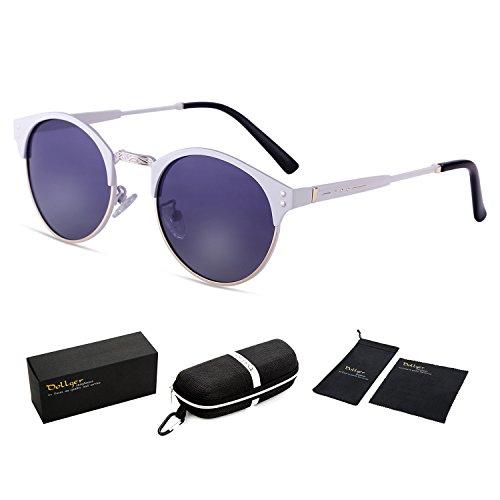 Dollger Wayfarer Clubmaster Semi rimless Sunglasses product image
