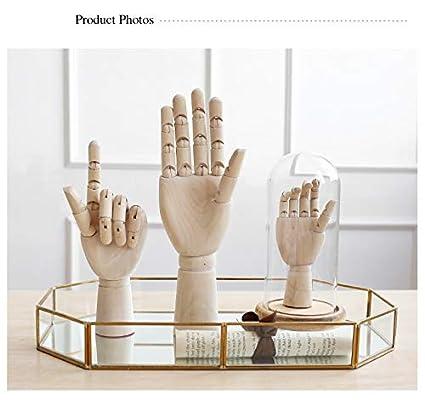 Amazon Com Mannequins Creative Wooden Hand Model Adjustable
