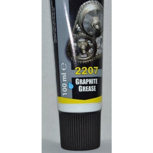 Graphite Grease - Technicqll Graphite Grease 2207 Lubricant For Splined & Screwed Joints Gears Gates 100Ml