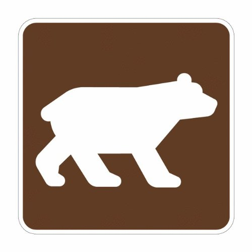 Tapco RS-012 Engineer Grade Prismatic Square National Parks Service Sign, Legend