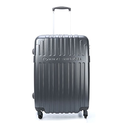 Tommy Hilfiger Empire Laptop Rollkoffer, 62 Liter, Graphite