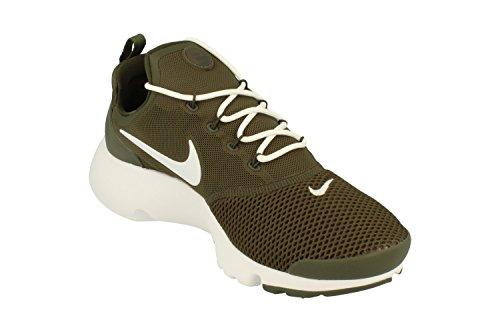 Nike New Mens Presto Fly Running Sneaker Cargo Kahki White 300