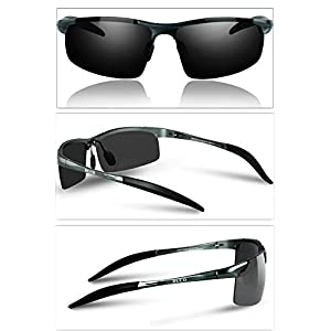 Duco Men's Driving Sunglasses Polarized Glasses Sports Eyewear Fishing Golf Goggles 8177S