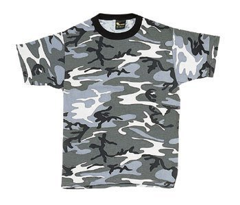 Rothco Camo T-Shirts, City Camo, Large