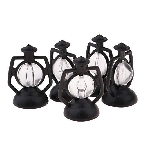 Set of 5pcs Miniature Kerosene Lamp for 1/12 Dolls House Life Scenes Decor from Brosco
