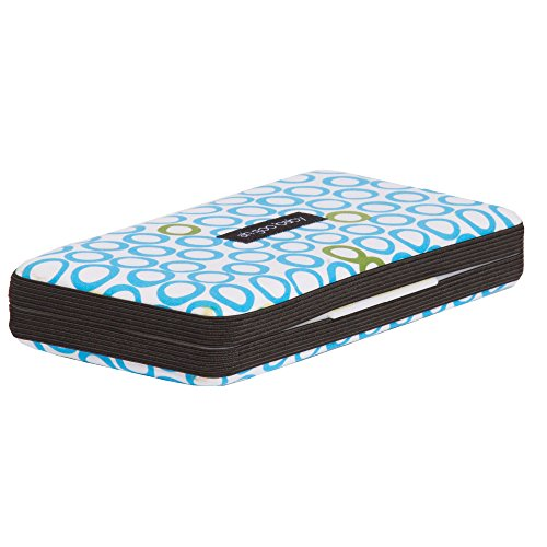 Ah Goo Baby Wipes Case, On-the-Go Travel Size, Bubbles in Water Pattern
