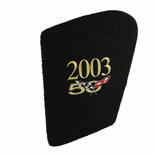 Eckler's Premier Quality Products 25-128223 Corvette Hood Liner With Monogrammed 50th Anniversary Logo by Premier Quality Products