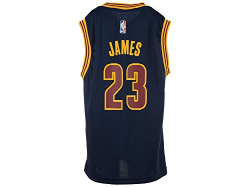 Cleveland Cavaliers Lebron James Youth 2nd Alternate Replica Jersey-Blue (M)