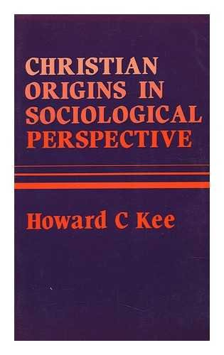 Christian Origians in Sociological Perspective