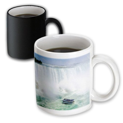 3dRose mug_56919_3 Maid of The Mist Boat Under Niagra Falls Magic Transforming Mug, - Niagra Falls Outlets