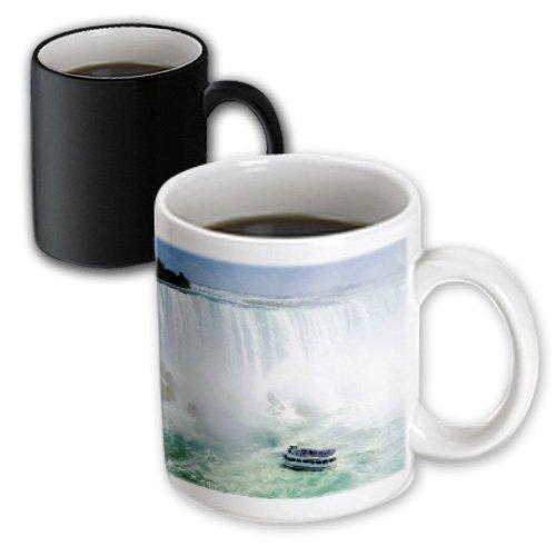 3dRose mug_56919_3 Maid of The Mist Boat Under Niagra Falls Magic Transforming Mug, - Niagra Outlets Falls