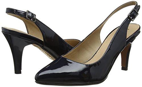 Con Patent De Para Nadia navy Tira Tobillo Blue Mujer Zapatos Lotus TxwFgqPC