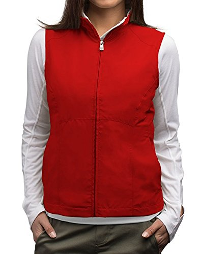 SCOTTeVEST Women's RFID Travel Vest - 18 Pockets - Travel Clothing RED XL (Womens Vests With Pockets)